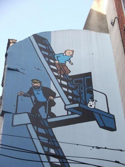Street Art: Belgia 31