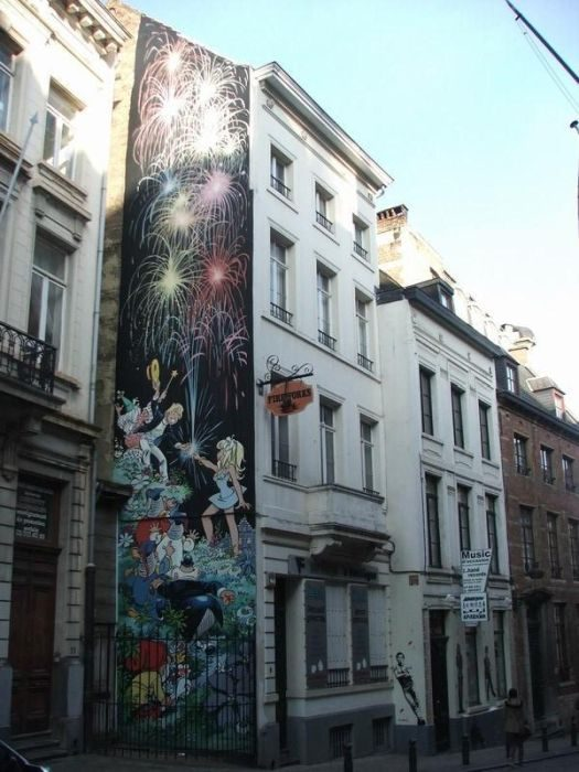 Street Art: Belgia 28