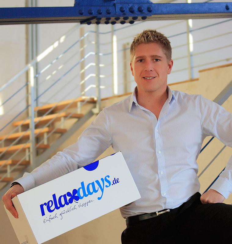 Martin Menz, Gründer und Geschäftsführer von Relaxdays.de