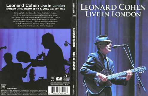 Leonard Cohen - Live In London (2009) DVD9