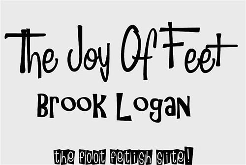 Brook Logan - Teen Feet In Nylon - TheJoyOfFeet - (2012/HD/720p/279 Mb)