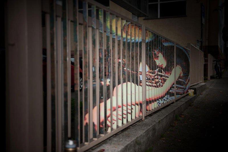 Street Art: Zebrating 1