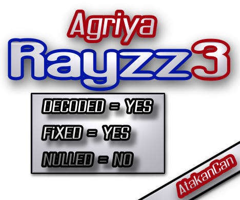 Rayzz3 &#8211; Full Decoded + Fixed