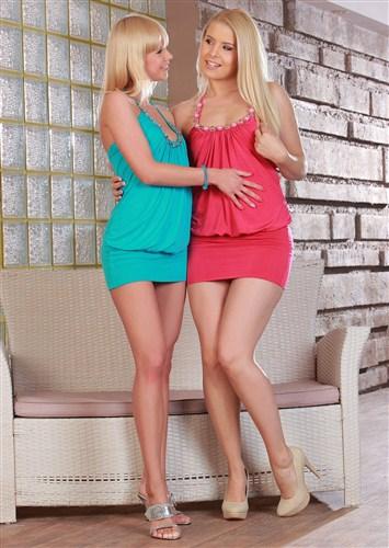 Rikki, Noleta - Blonde Affair - SapphicErotica - (2102/HD/720p/777 Mb)
