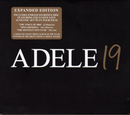 Adele - 19 {2CD EXPANDED EDITION} - 2008