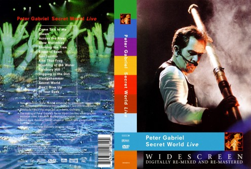 Peter Gabriel - Secret World Live (2012) DVD9