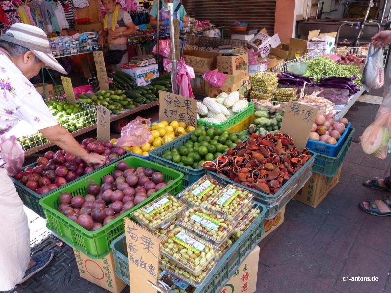 Markt in Taipei