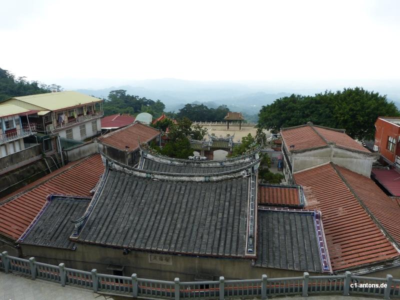 Tempel nahe Guanziling