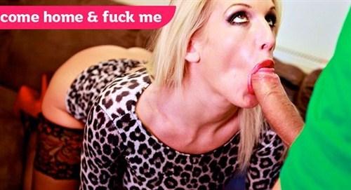 Hot blonde whore