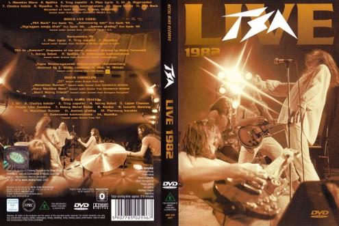 TSA - Live 1982 (2004) DVD9