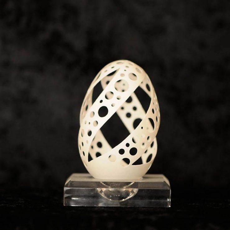 Rzeźby w skorupkach jajek 20