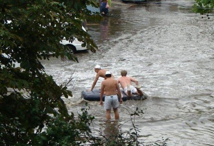 Miasta w czasie powodzi 35