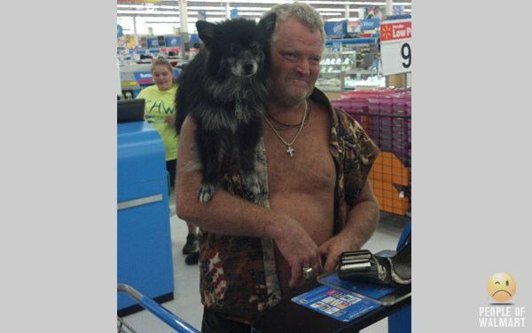 Najdziwniejsi klienci z WalMart #14 37