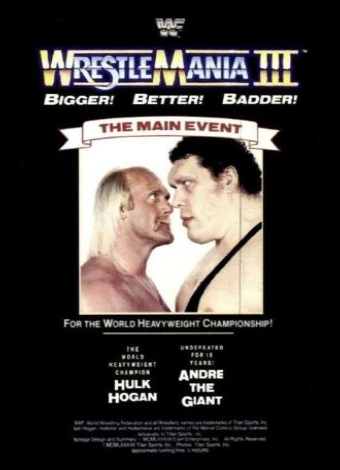 Dzkv6spw in WWe Wrestlemania 3 1987 VHS Rip German Xvid