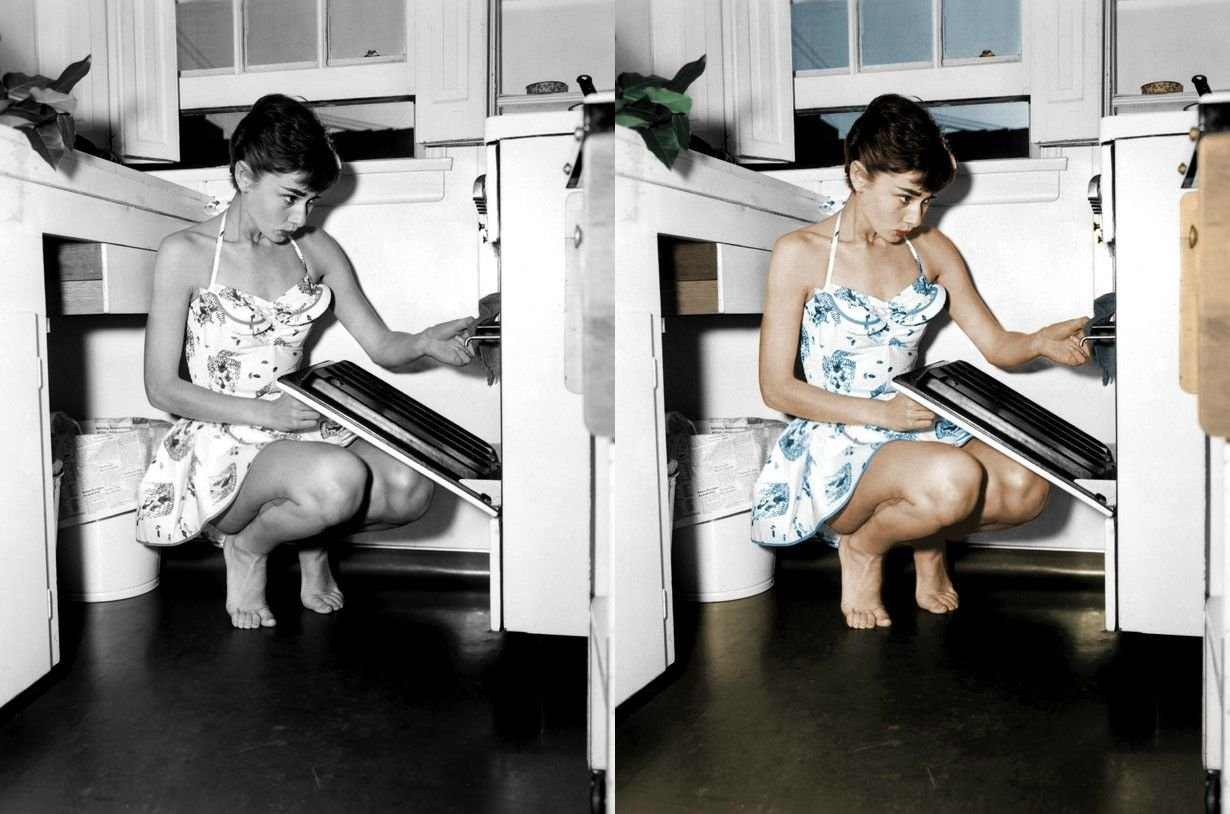 Drugie życie starych fotografii 13