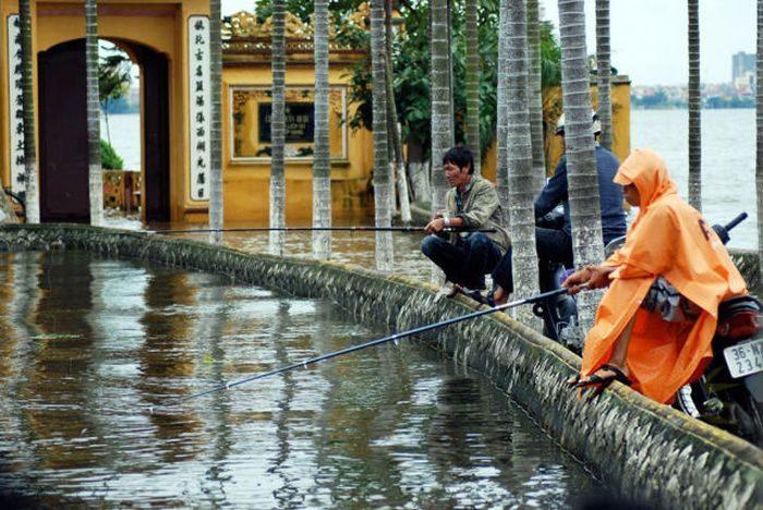 Miasta w czasie powodzi 16