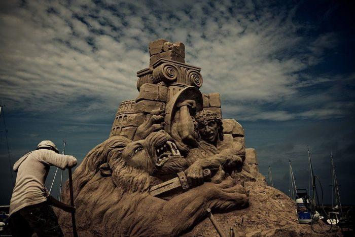 Rzeźby z piasku #4 9