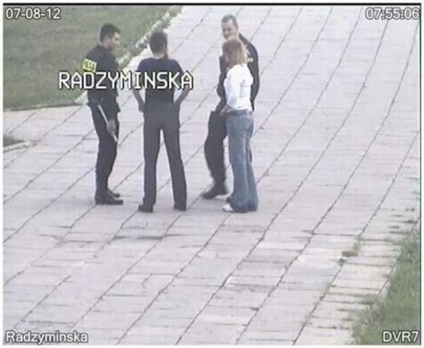 Gorąca para na ulicy Radzymińskiej 7