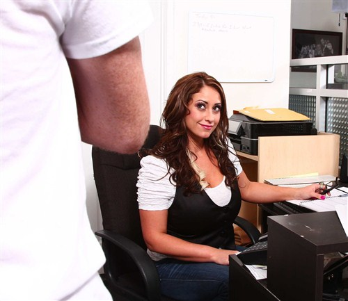 Eva Notty - Huge Tits on the Receptionist - DirtyMasseur/BraZZers - (2012/FullHD/1080p/3.11 Gb)