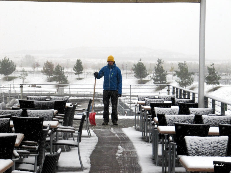 Schnee im KPM