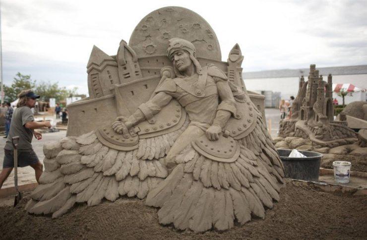 Mistrzostwa Świata w Rzeźbie z Piasku 10