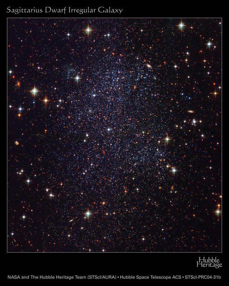 Zdjęcia z kosmicznych Teleskopów 51