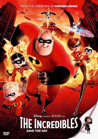 Суперсемейка / The Incredibles (2004) HDRip + BDRip-AVC + BDRip 720p + BDRip 1080p