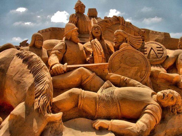 Najlepsze rzeźby z piasku na świecie. 49