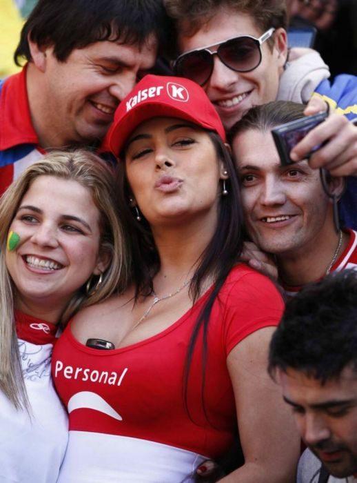 Kibicki z Copa America 9