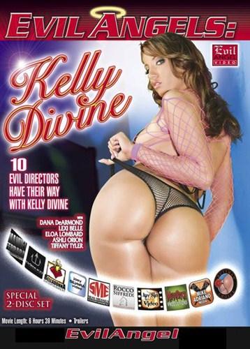 Evil Angels: Kelly Divine - Evil Angel - (2012/DVDRip/2.34 + 2.13 Gb)