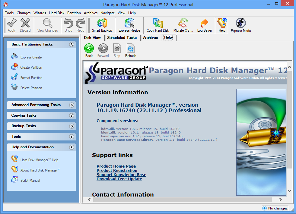 Paragon Partition Manager 10.0 Personal Edition Portable , картинка номер 4