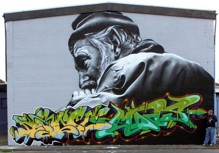 Realistyczny street art 12
