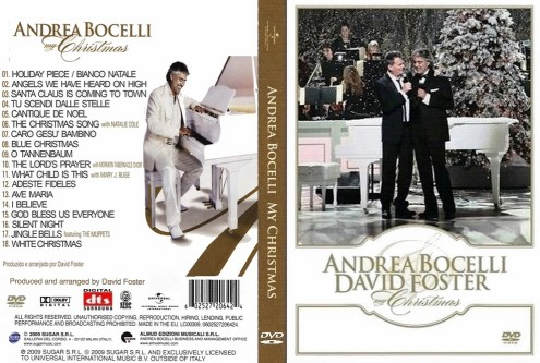Andrea Bocelli and David Foster - My Christmas (2009) DVD5
