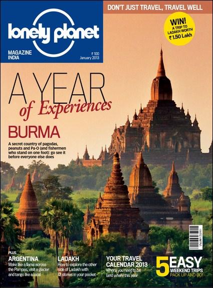 Lonely Planet Magazine India - January 2013 (True PDF)