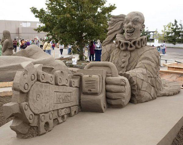 Rzeźby z piasku #3 66