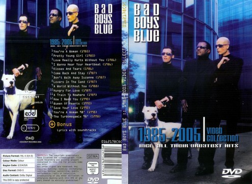 Bad Boys Blue - Video Collection 1985-2005 (2005) DVD5