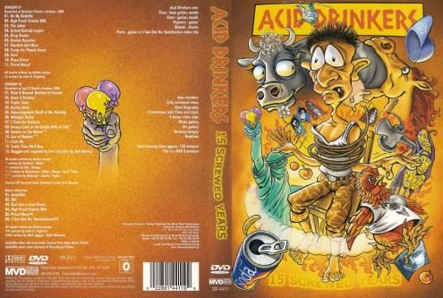 Acid Drinkers - 15 Screwed Years (2004) DVD9