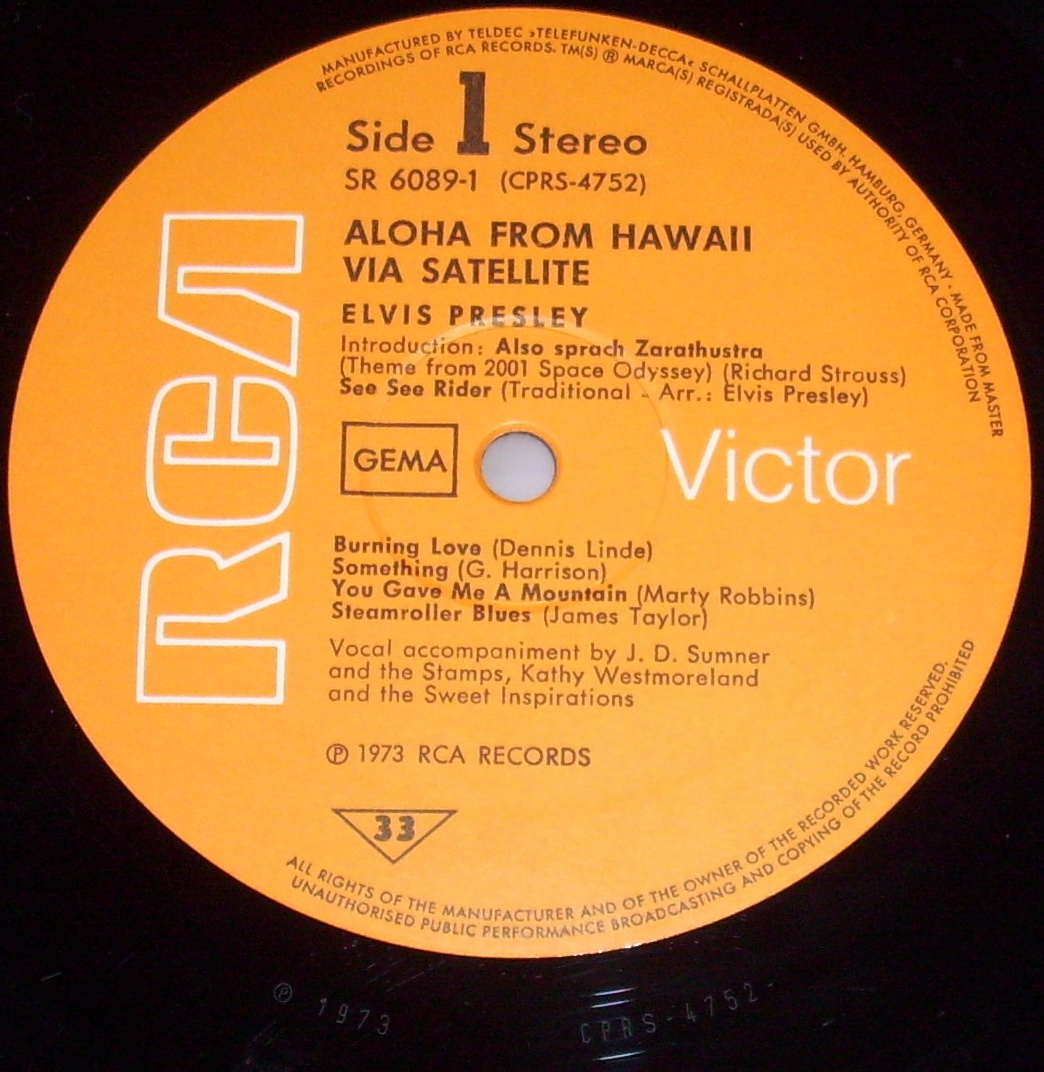 ALOHA FROM HAWAII VIA SATELLITE  39vjvwv4