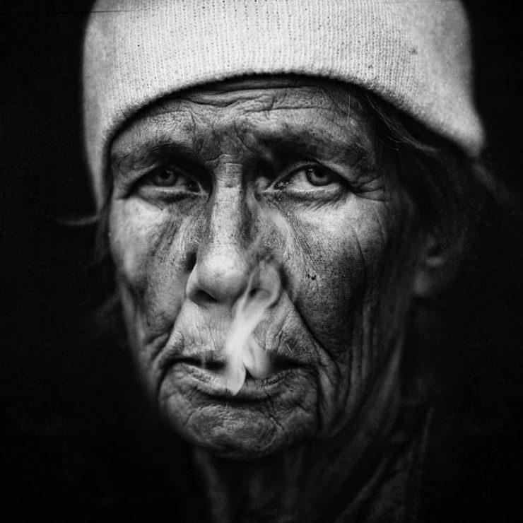 Niezwykłe zdjęcia bezdomnych. 7