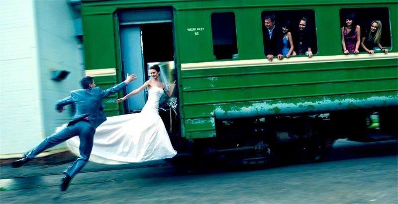 Nietypowe zdjęcia ślubne 39