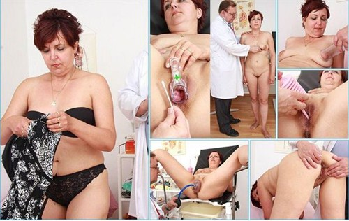 Oldpussyexam - Magdalena - 44 years woman gyno exam (2013/HD)