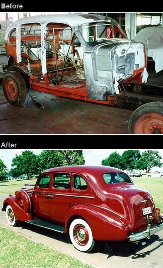 Odrestaurowane samochody 6