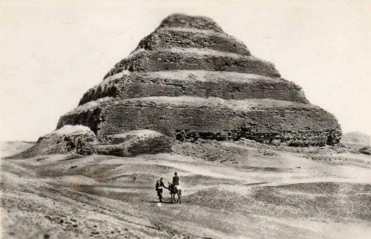 Egipt przed rozwojem turystyki 2