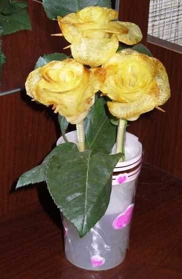 Jadalna róża dla dziewczyny 11