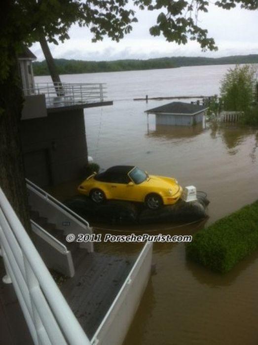 Jak ocalić samochód przed powodzią? 4