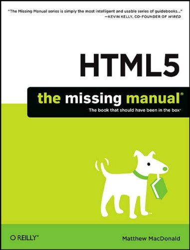 HTML5: The Missing Manual (TRUE PDF)