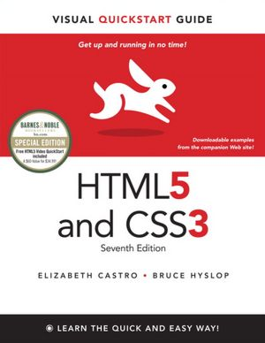 HTML5 and CSS3 Visual QuickStart Guide, 7th Edition (TRUE PDF)