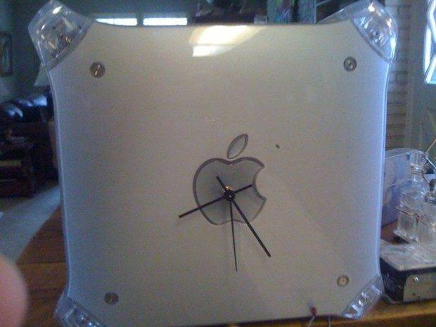 Zegar ścienny z jabłuszkiem 15