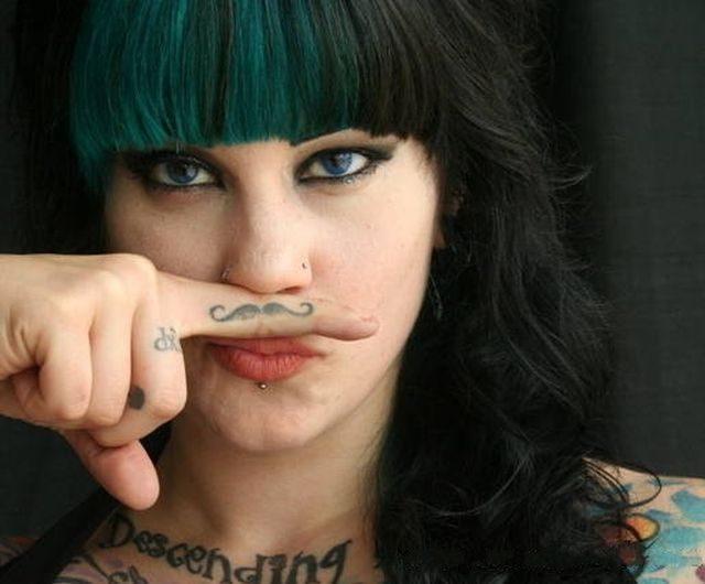 Najdziwniejsze tatuaże #3 16