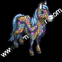 Tiled Horse